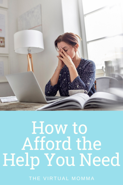 How to afford the help you need