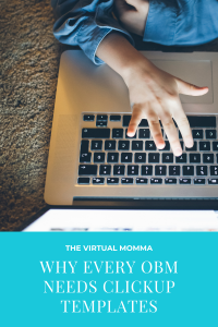 Why every OBM needs ClickUp templates