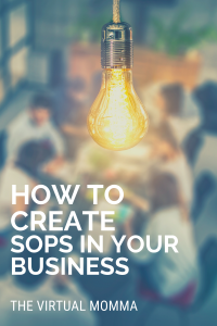 How to create SOPs in your busness