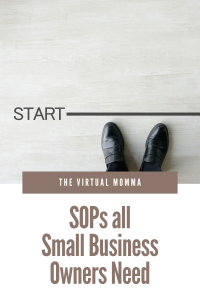 SOPs all small business owners need
